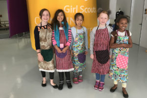 Girl Scout Badges Available at the Creativity Shell Houston.