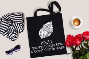 Creativity Shell Re-launches Adult Sewing Classes to add Knitting, Crocheting, Fabric Dyeing and More!