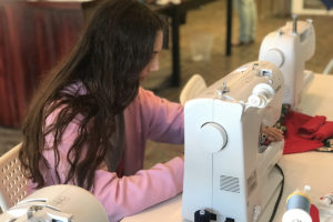 Creativity Shell to Teach Sewing/Textile Arts at Elm Grove Elementary School on Monday's!