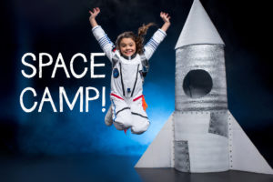 Creativity Shell Teaches Children to Make Their Own Space Suit at Space Camp June 24 – 28, 2019!